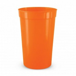 400ml Orange Stadium Cup