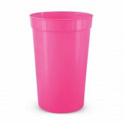 400ml Pink Stadium Cup