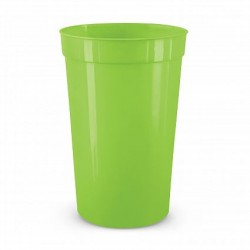 400ml Bright Green Stadium Cup