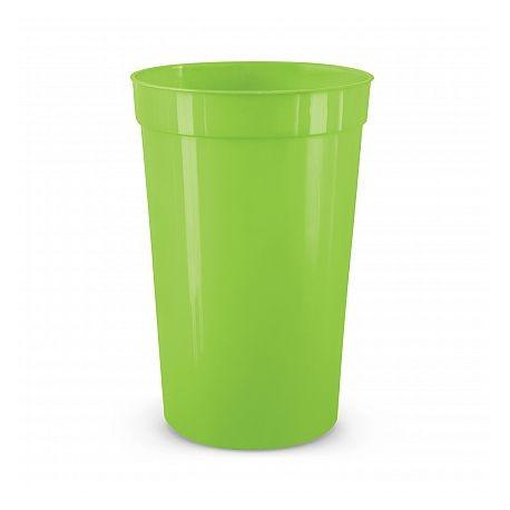 400ml Bright Green Stadium Cup