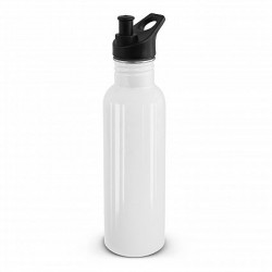 750ml White Nomad Eco Safe Drink Bottle