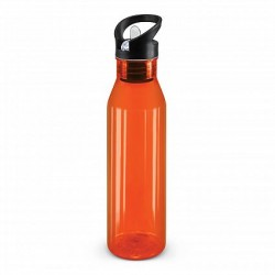 750ml Orange Nomad Drink Bottle - Translucent