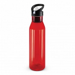 750ml Red Nomad Drink Bottle - Translucent