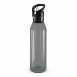 750ml Black Nomad Drink Bottle - Translucent