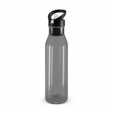 750ml Black Nomad Drink Bottle - Translucent