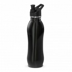 700ml Black Atlanta Eco Safe Drink Bottle