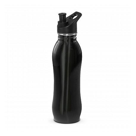700ml Black Atlanta Eco Safe Drink Bottle