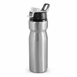 750ml Silver White Viper Drink Bottle - Snap Cap