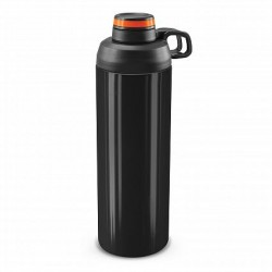 900ml Black Orange Primo Metal Drink Bottle