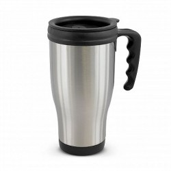 500ml Silver Commuter Thermal Mug