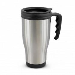 500ml Silver Commuter Thermal Mug