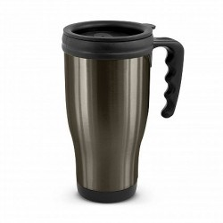 500ml Black Commuter Thermal Mug